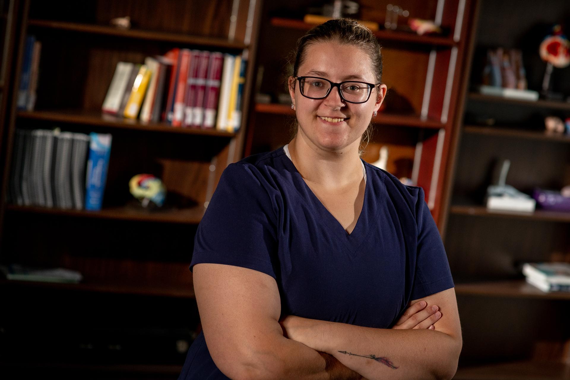 Megan Tucker, étudiante au programme Soins infirmiers auxiliaire