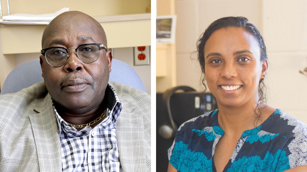 Malanga Georges-Liboy et Judith Patouma s'intéressent à l'intégration scolaire des enfants dans les écoles francophones en Nouvelle-Écosse