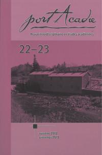 Numéros 22-23, automne 2012 et printemps 2013