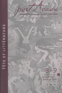 Numéros 8-9, automne 2005 - printemps 2006